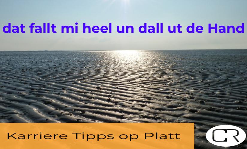Karriere Tipps op Platt – by Personal Branding No.3