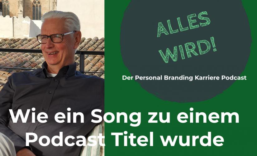 """🎙""""ALLES WIRD"""" – Start des neuen Karriere Podcast"""